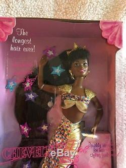 Jewel Hair Mermaid Barbie African American New In Box 1995 Mattel