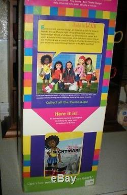 Karito Kids Doll LULU KENYA African American. UNOPENED! PRISTINE! RARE