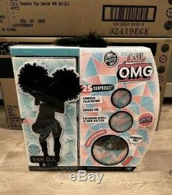 LOL Surprise OMG Winter Disco 24K DJ Fashion Doll & D J Sister Wave 2 Brand New