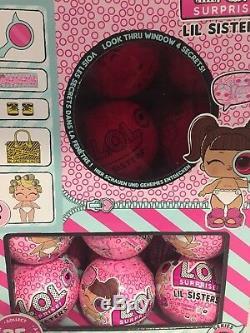 LOL Surprise Series 4 Wave 1 Eye Spy LIL SISTERS Full 24 Case LOL + Display Box