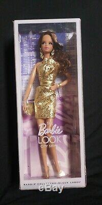 LOT (3) 2014 Mattel Barbie Dolls The Look Barbie Black Label Collector