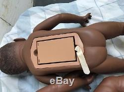 LOT BABY THINK IT OVER DOLL AFRICAN AMERICAN 1995 one Male two Females Lot