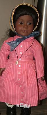 LOT Pleasant Company American Girl ADDY African American DOLL w OUTFITS & More