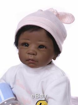 Life Like Baby Dolls Black 22 Biracial Reborn Baby Dolls Girl African American