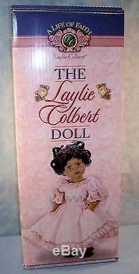 Life of Faith Laylie Colbert African American Doll, New in Box