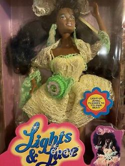 Lights and Lace Christie Barbie 1990 Mattel Superstar Video Star! NRFB