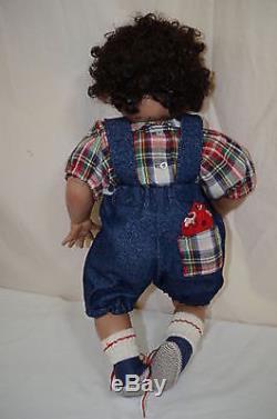 Lil Booger African American Rolfe #7 1995 Doll 4/96 Ltd BLB Cindy Marschner 1308