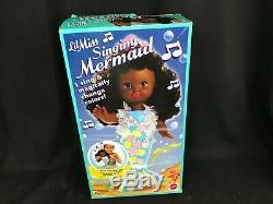 Lil Miss Singing Mermaid African American Doll NIB Sings and Changes Colors