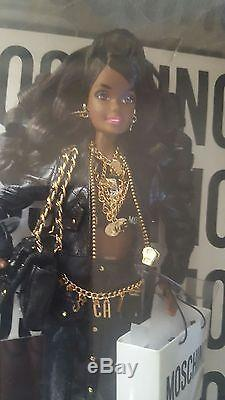 Limited Edition African American Moschino Barbie Sold Out! NIB! LE 700