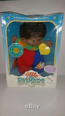 Little Big Ears Doll ERTL RARE African American Boy Vintage