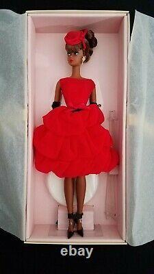 Little Red Dress Barbie Doll Gold Label BFCM Silkstone NRFB MPN CGT26