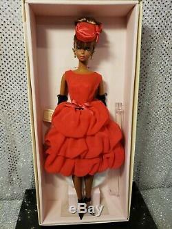 Little Red Dress Silkstone Barbie Doll Aa 2014 Gold Label Mattel Cgt26 Mint Nrfb