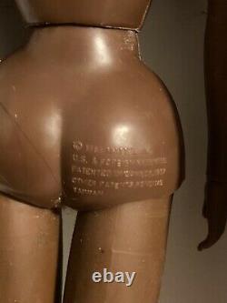 Live Action Christie 1971 Vintage Barbie AA Black Nude Mod Era! HTF excellent
