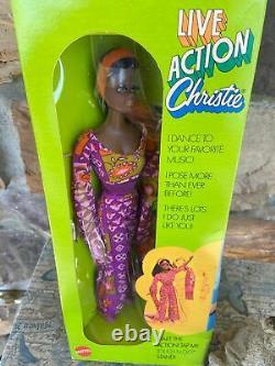Live Action Christie, Very Rare, #1175 NRFB! (Barbie Vintage Pre-1973) New