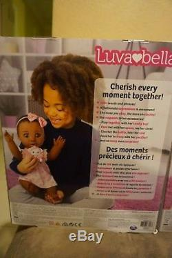 Luva Bella Girl Baby Doll Toysrus Exclusive African American Sold Out IN HAND