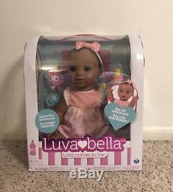 Luva Bella Luvabella African American Interactive Babydoll Baby Doll
