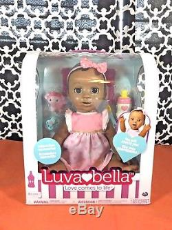 Luvabella African American Baby Girl FAST SHIP 100% AUTHENTIC NEW IN BOX