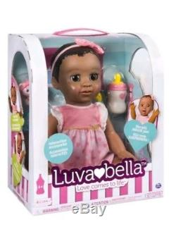 Luvabella Doll Baby African American