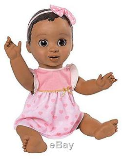 Luvabella Responsive Baby Doll African American Black beauty Luva bella WOW