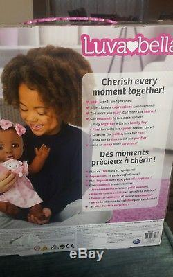 Luvabella Responsive Baby Doll African American Luva Bella 2017 Christmas Toy