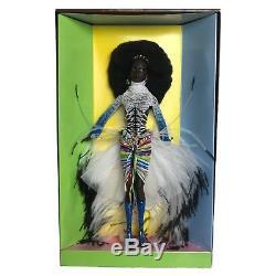 MBILI Barbie Doll Treasures of Africa Byron Lars African American AA NRFB 2002