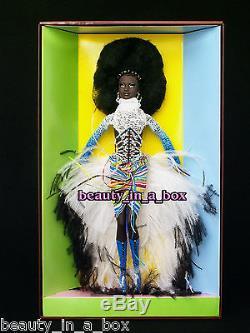 MBILI Barbie Doll Treasures of Africa Byron Lars African American AA NRFB SW