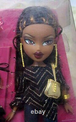 MGA Bratz 2003 Step Out Sasha Doll Red Lips AA Early Doll Brat Brats Beautiful