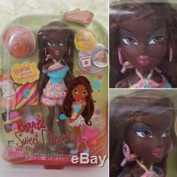 MGA Bratz 2006 Sweet Dreamz Felicia AA Doll Dark Skin SUPER RARE SAMPLE Felecia