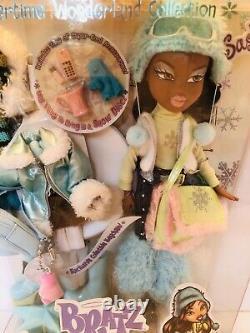 MGA Bratz Doll Wintertime Wonderland Collection Sasha 2003 NRFB New NIB Rare