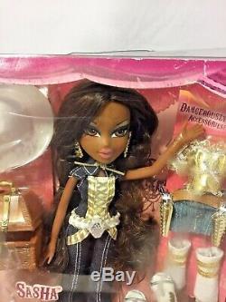 MGA Entertainment Bratz Doll- Sasha- COWGIRLZ- Rare- NRFB- African American