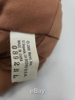 MIRACLE MOVES REAL FEEL SKIN 2000 MATTEL INTERACTIVE BABY DOLL 18 Original bag