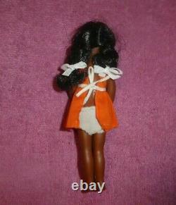 MOD Era Barbie Tutti CARLA Doll Vintage African American Carla Doll