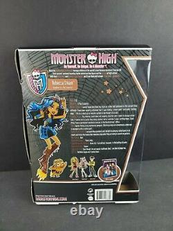 MONSTER HIGH 2011 Robecca Steam Daughter Mad Scientist First Wave Original NEW