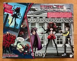 MONSTER HIGH Weberella Doll NIB SDCC 2013 Comics and Box Wydowna Spider