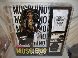 MOSCHINO Barbie Doll AFRICAN AMERICAN (AA) Mattel #DNJ32 NRFB