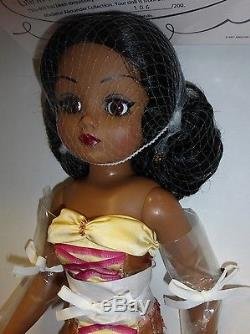 Madame Alexander 21 CISSY Doll LIFE IN THE LIMELIGHT AFRICAN/AMERICAN -LE 200