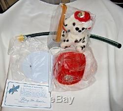 Mary Van Osdell Fireman Jazz 24 Tall Porcelain Doll African/American NIB COA