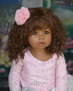 Masterpiece Cassi African American Brown Eyes, Monka Levenig, 34-inches
