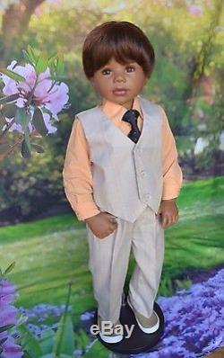 Masterpiece Dolls, Dee Dee, African American Exclusive as Aaron, Levenig