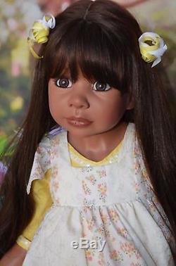 Masterpiece Dolls, Vanessa, African American 40 by Monika Levenig