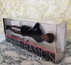 Mattel Barbie Basics Black Label Doll Model 04 Black Dress 001 Dark Skin AA RARE