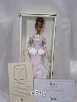 Mattel Barbie silkstone Evening Gown Gold Lable MIB African American AA