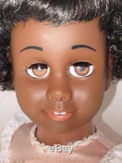 Mattel CHATTY CATHY African American INCREDIBLY BEAUTIFUL! TALKS FREE SHIPPING
