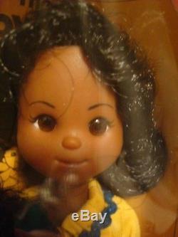 Mattel Happy Family Dolls 1974 No 7279 Sunshine Family, African American. NIB