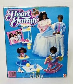Mattel Heart Family AA Steffie Original 4 Doll GIFT SET NRFB