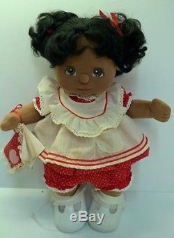 Mattel My Child 1985 Original African American Doll with Original Box