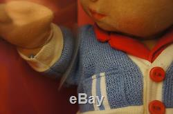 Mattel My Child Doll NEW African American Boy Red blue AA NEW NOS 1656