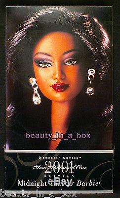 Midnight Tuxedo Barbie Collector's Club Member's Choice Doll AA African American
