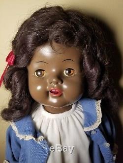 Miller's Honey Bunch African-American Saucy Walker Type Doll