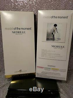 Model Of The Moment Nichelle Urban Aa Barbie Doll Model Muse Mattel #c3821 Nrfb